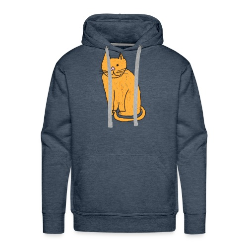 Cat Travel Mug - Men's Premium Hoodie