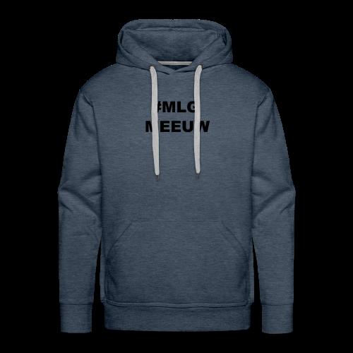 MLG MEEUW - Mannen Premium hoodie