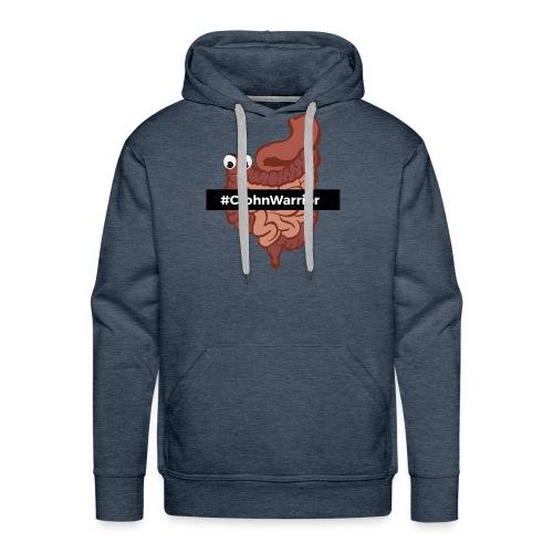 Diseño #CrohnWarrior - Sudadera con capucha premium para hombre