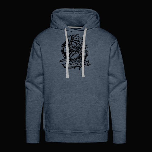 Drug_Fuckers_Logo _-_ Composition_01-_black - Men's Premium Hoodie
