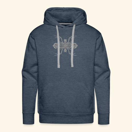 Cerf - Souris - Sweat-shirt à capuche Premium pour hommes