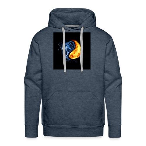 clem's - Sweat-shirt à capuche Premium pour hommes