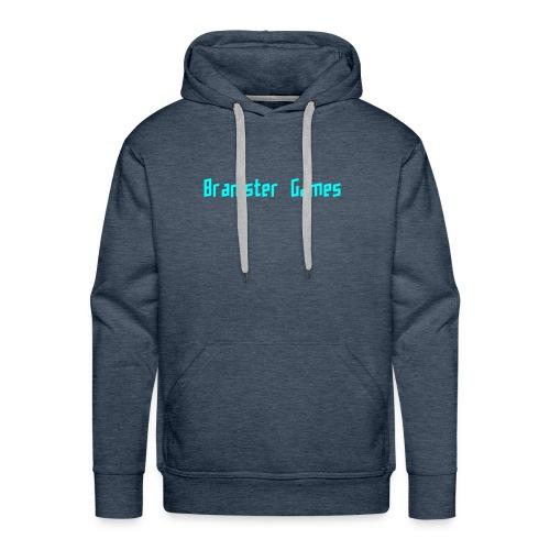 Bramster Games LichtBlauw - Mannen Premium hoodie