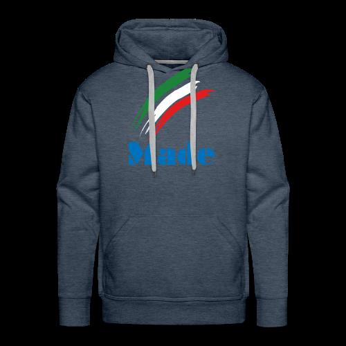 Italy Made - Felpa con cappuccio premium da uomo