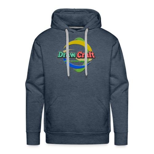 T-Shirt DrawCraft - Felpa con cappuccio premium da uomo