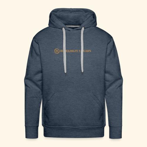 Rudelhilfe Logo - Männer Premium Hoodie