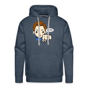 Don't leave me hanging - Mannen Premium hoodie