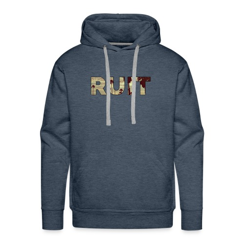 Ruit Palm Trees - Mannen Premium hoodie