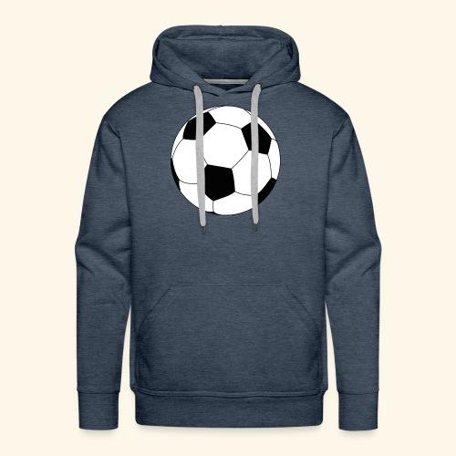 Ballon de football - Sweat-shirt à capuche Premium pour hommes