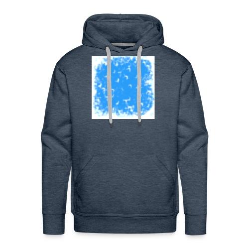 blue-white - Männer Premium Hoodie