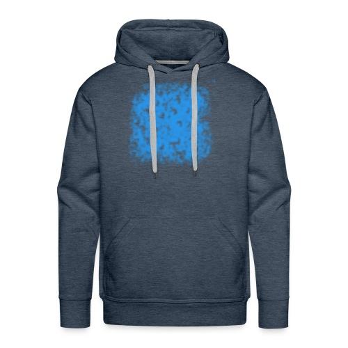 blue-transparent - Männer Premium Hoodie