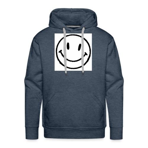 muy feliz - Sudadera con capucha premium para hombre