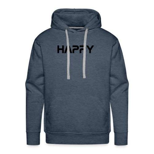 Happy - Männer Premium Hoodie