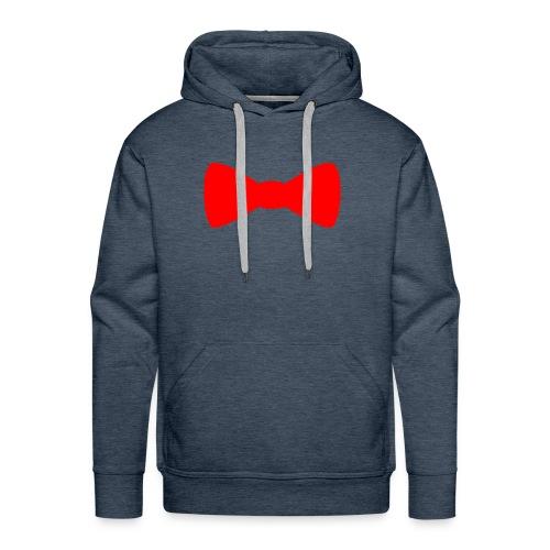 Red Bowtie - Men's Premium Hoodie