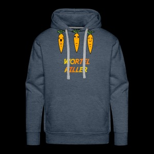 Wortel Killer [Teenager Premium T-Shirt] - Mannen Premium hoodie