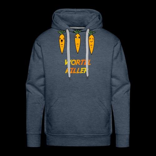 Wortel Killer [Teenager Premium T-Shirt] - Mannen Premium hoodie