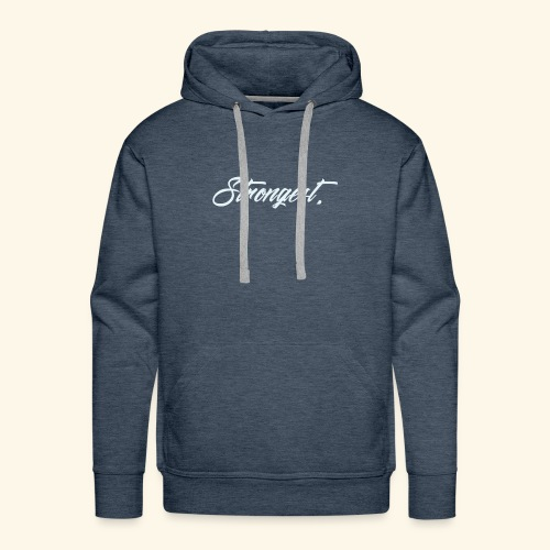 Strongest - Sweat-shirt à capuche Premium pour hommes