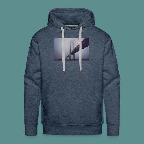 suspension bridge - Mannen Premium hoodie