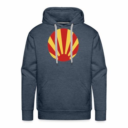 soleil nippon - Sweat-shirt à capuche Premium pour hommes