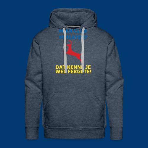 Dit is mien club! - Mannen Premium hoodie