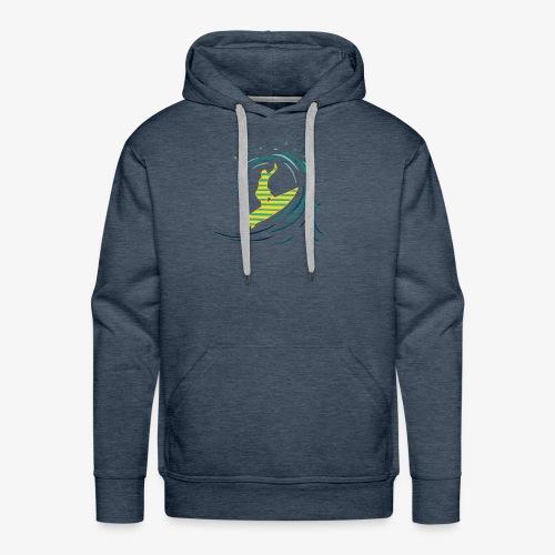 Sun Surf - Sweat-shirt à capuche Premium pour hommes