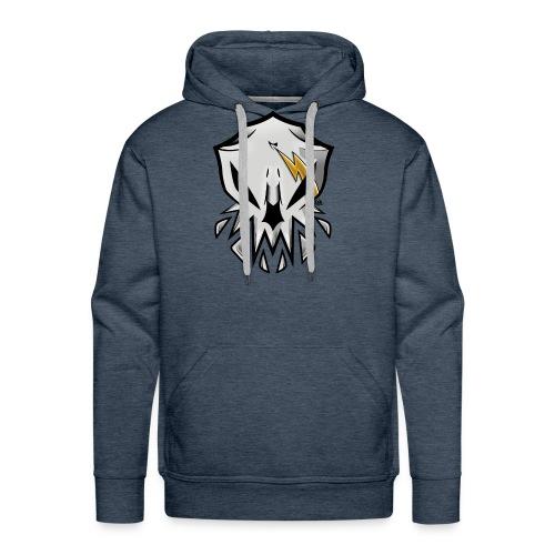 Alien Skull - Sudadera con capucha premium para hombre