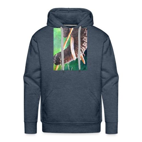 Muismat Olifantendesign - Mannen Premium hoodie