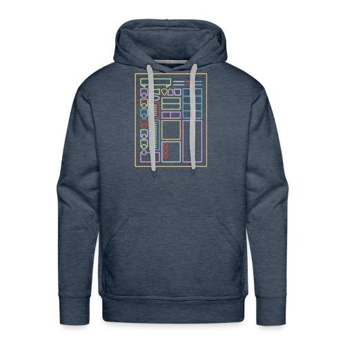 Dnd Arkusz postaci - Bluza męska Premium z kapturem