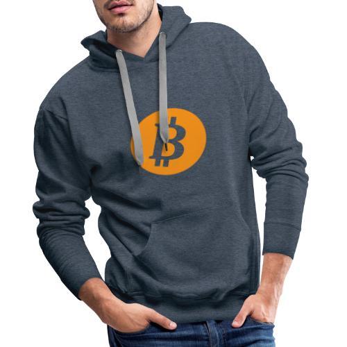 bitcoin snapback cap - Mannen Premium hoodie