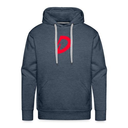 Destra Logo by Atelier render red - Mannen Premium hoodie