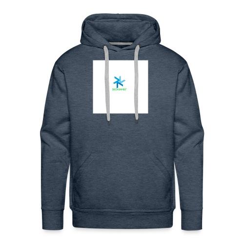 DeoxGames Camiseta - Sudadera con capucha premium para hombre