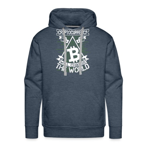 cryptocurrency - Mannen Premium hoodie