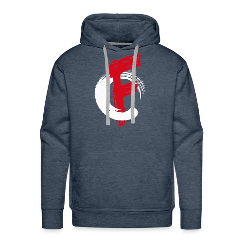 FadeOut Logo Standard - Männer Premium Hoodie