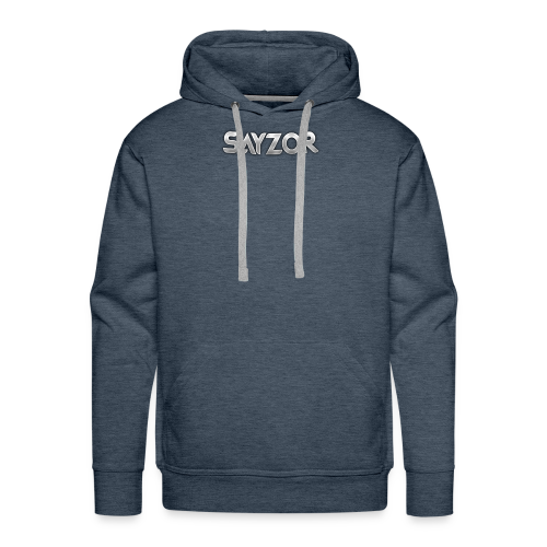 Navy 2017 Sayzor Merch! - Men's Premium Hoodie