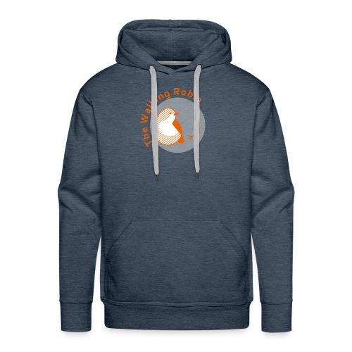 The Walking Robin logo - Felpa con cappuccio premium da uomo