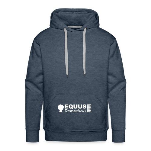 EQDO Logo SingleElementsGruppiert FarbtonBlogname - Männer Premium Hoodie
