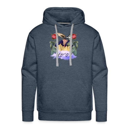Bake yung lean vaporwave aesthetics - Mannen Premium hoodie
