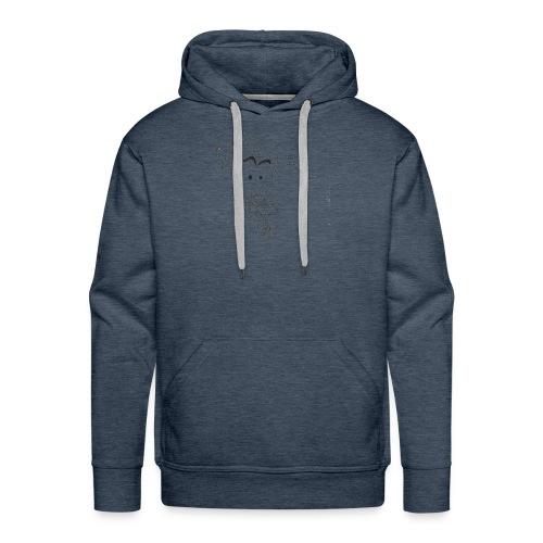 La banane chasseuse - Sweat-shirt à capuche Premium pour hommes