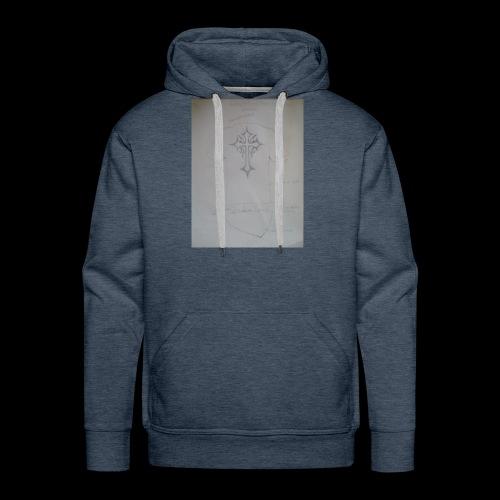 QualamTarash Rückenkreuz - Männer Premium Hoodie
