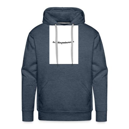 Nofckn - Männer Premium Hoodie