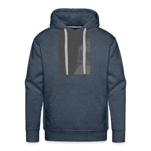 Cartas a un anónimo - Sudadera con capucha premium para hombre