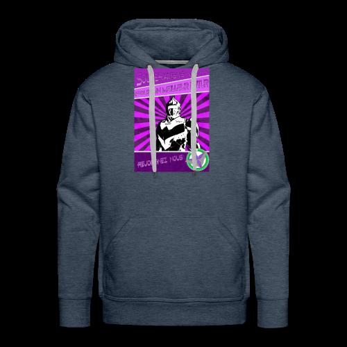 Pour Vanu - Sweat-shirt à capuche Premium pour hommes