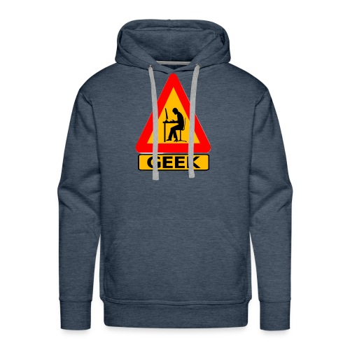 geek_warning - Sweat-shirt à capuche Premium pour hommes
