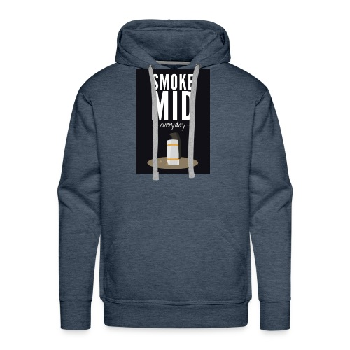 smoke mid - Mannen Premium hoodie