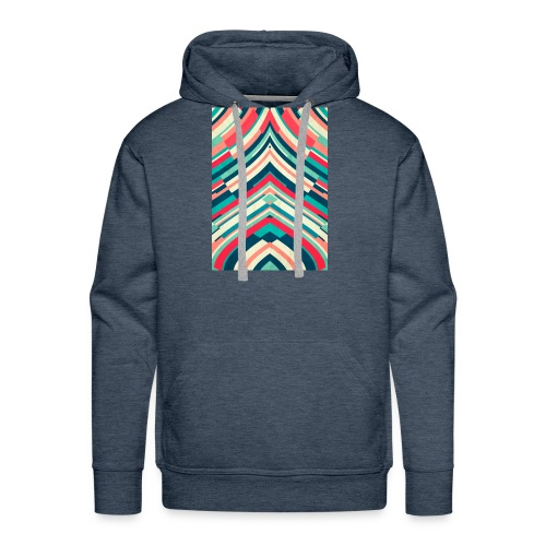 Fashion Lines - Sudadera con capucha premium para hombre