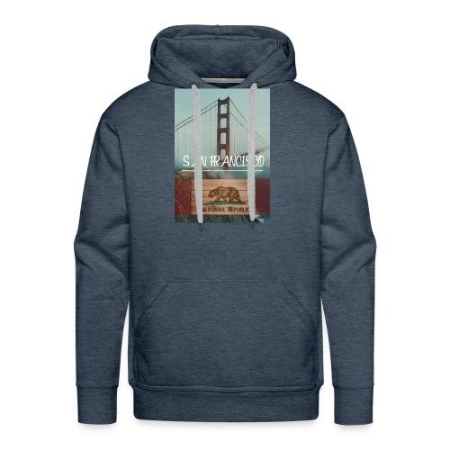 SAN_FRANCISCO - Sudadera con capucha premium para hombre