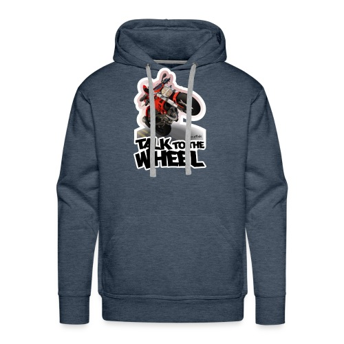 Ducati Monster Wheelie B - Sudadera con capucha premium para hombre
