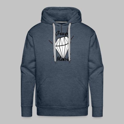 T-shirt Trap Music Genus - Felpa con cappuccio premium da uomo