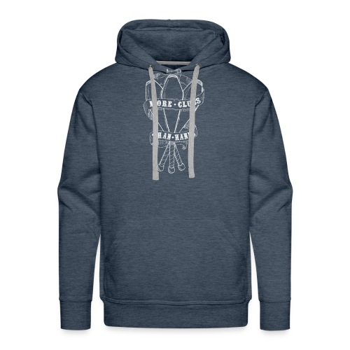 MORE CLUBS THAN HANDS - Men's Premium Hoodie