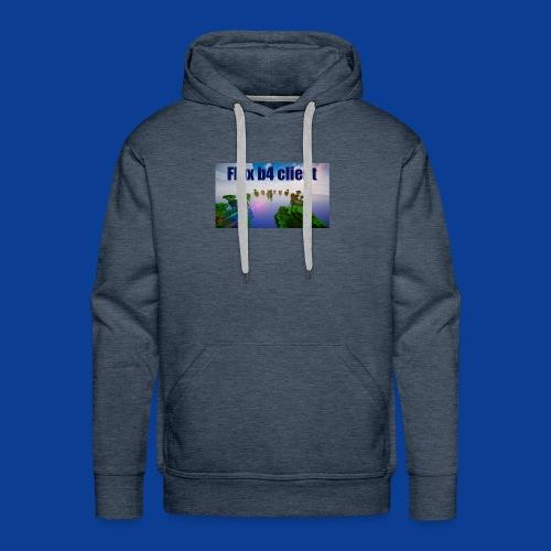 Flux b4 client Shirt - Men's Premium Hoodie